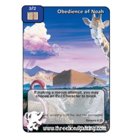 FoM: Obedience of Noah