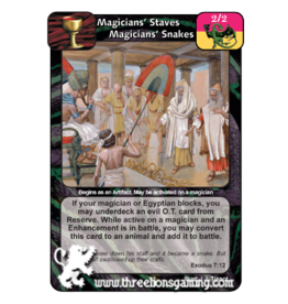 FoM: Magicians' Staves (Magicians' Snakes)