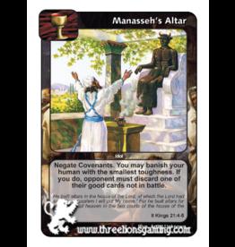 FoM: Manasseh's Altar