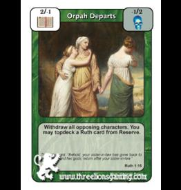 FoM: Orpah Departs
