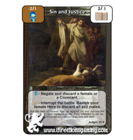 FoM: Sin and Justice