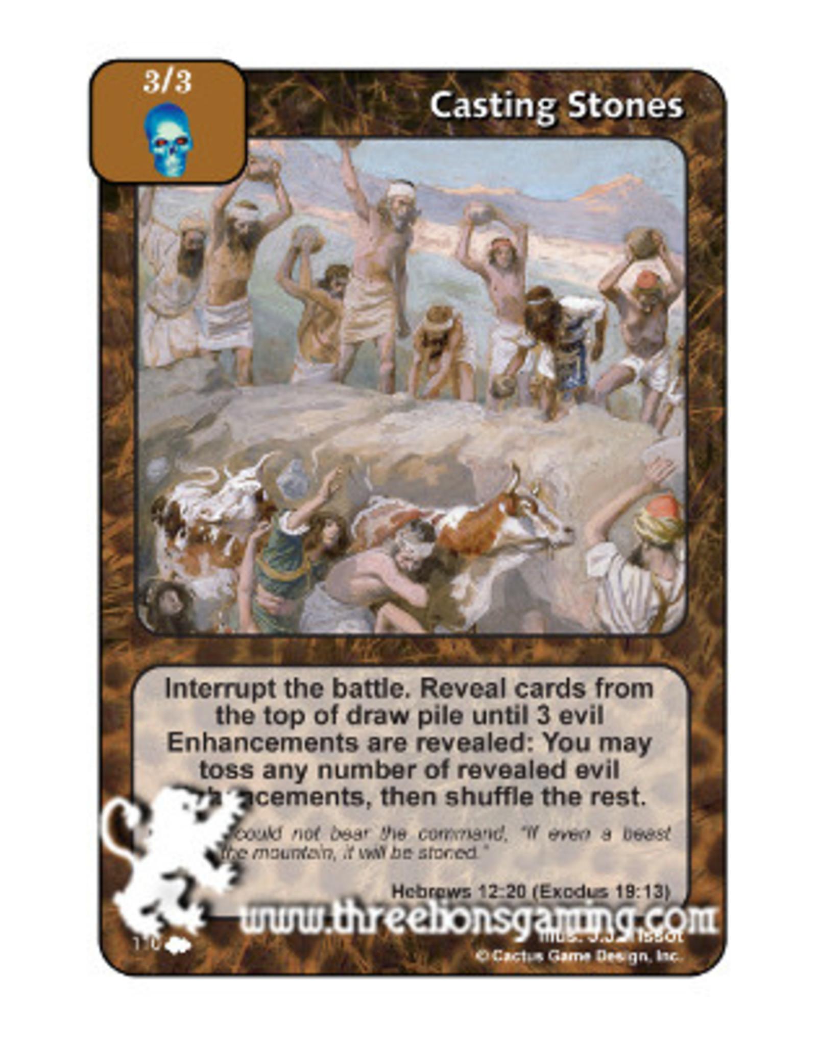 CoW: Casting Stones
