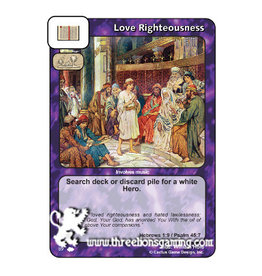 CoW: Love Righteousness