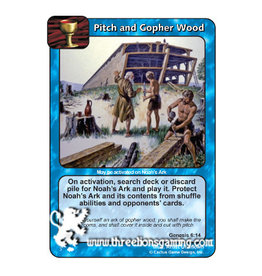 CoW: Pitch and Gopher Wood
