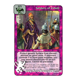 Soldiers of Zobah