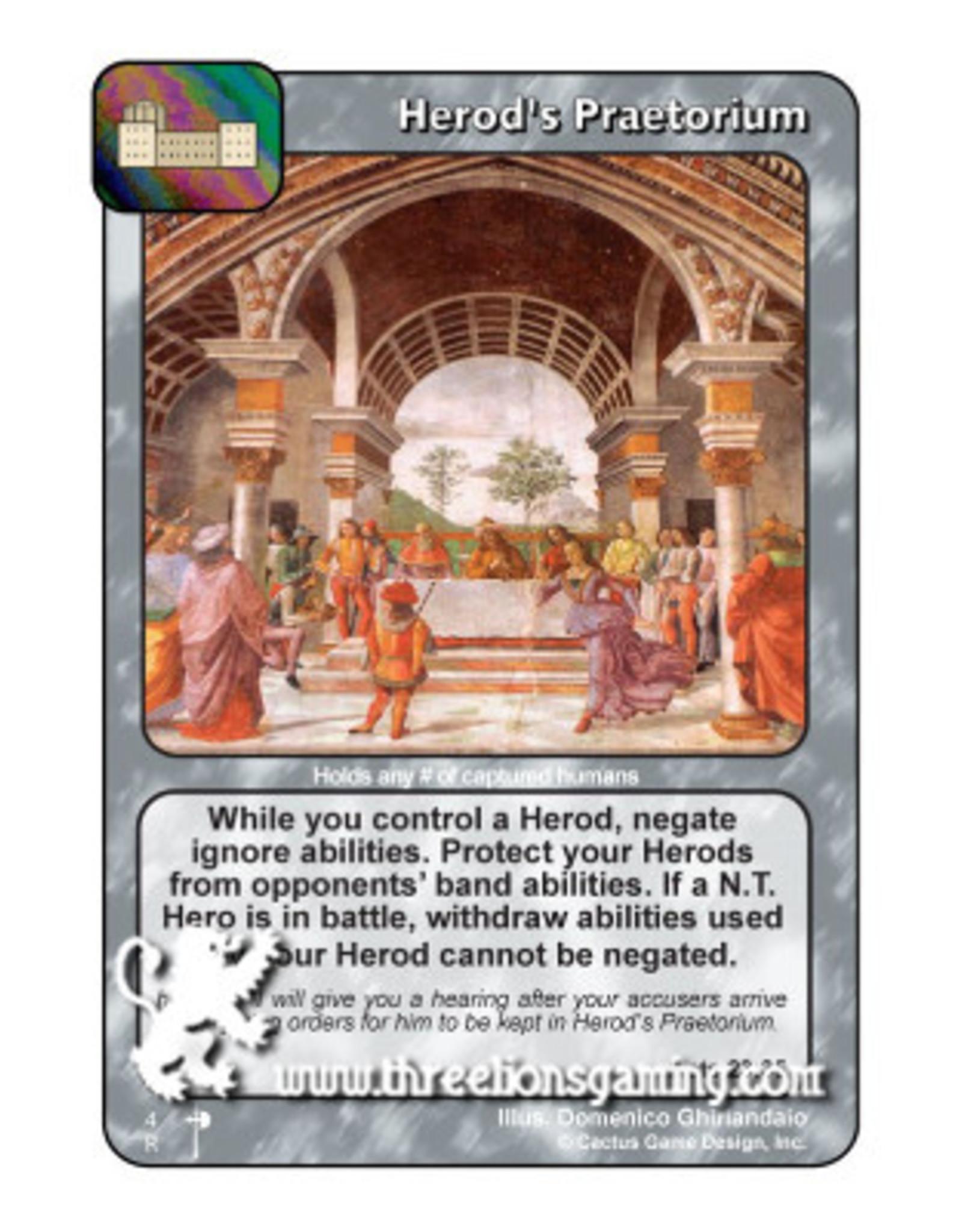 PC: Herod's Praetorium
