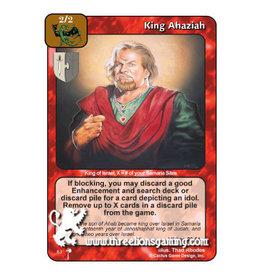 PC: King Ahaziah