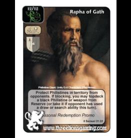 Promo: Rapha of Gath