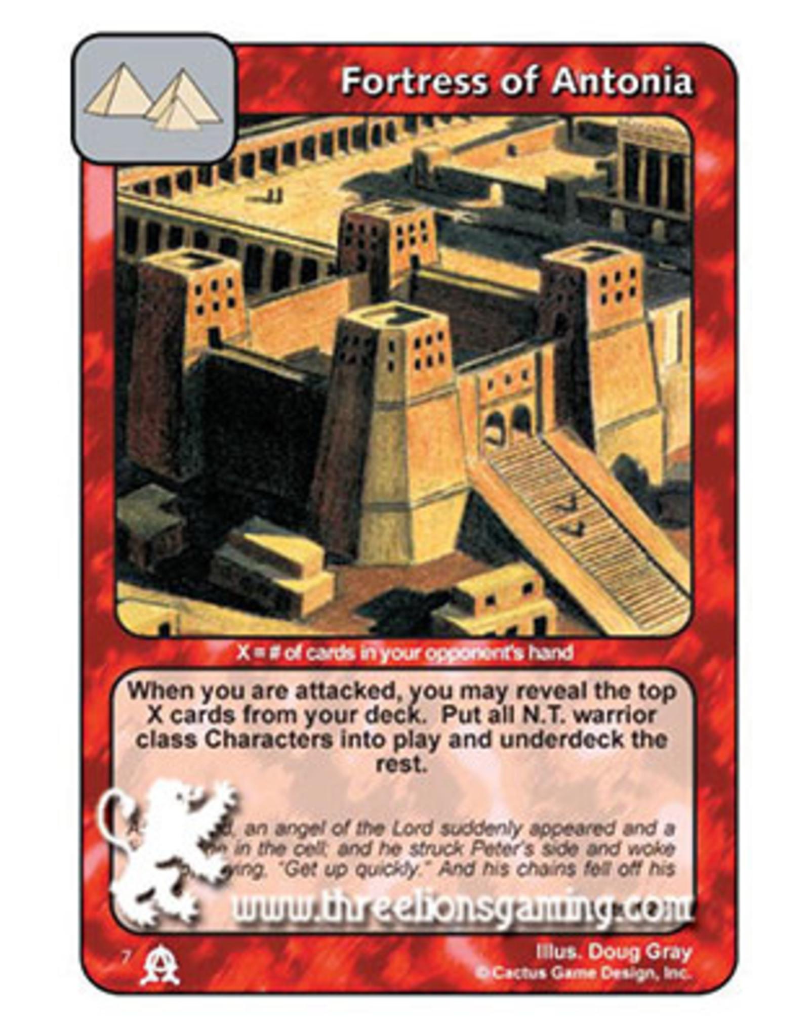 EC: Fortress of Antonia