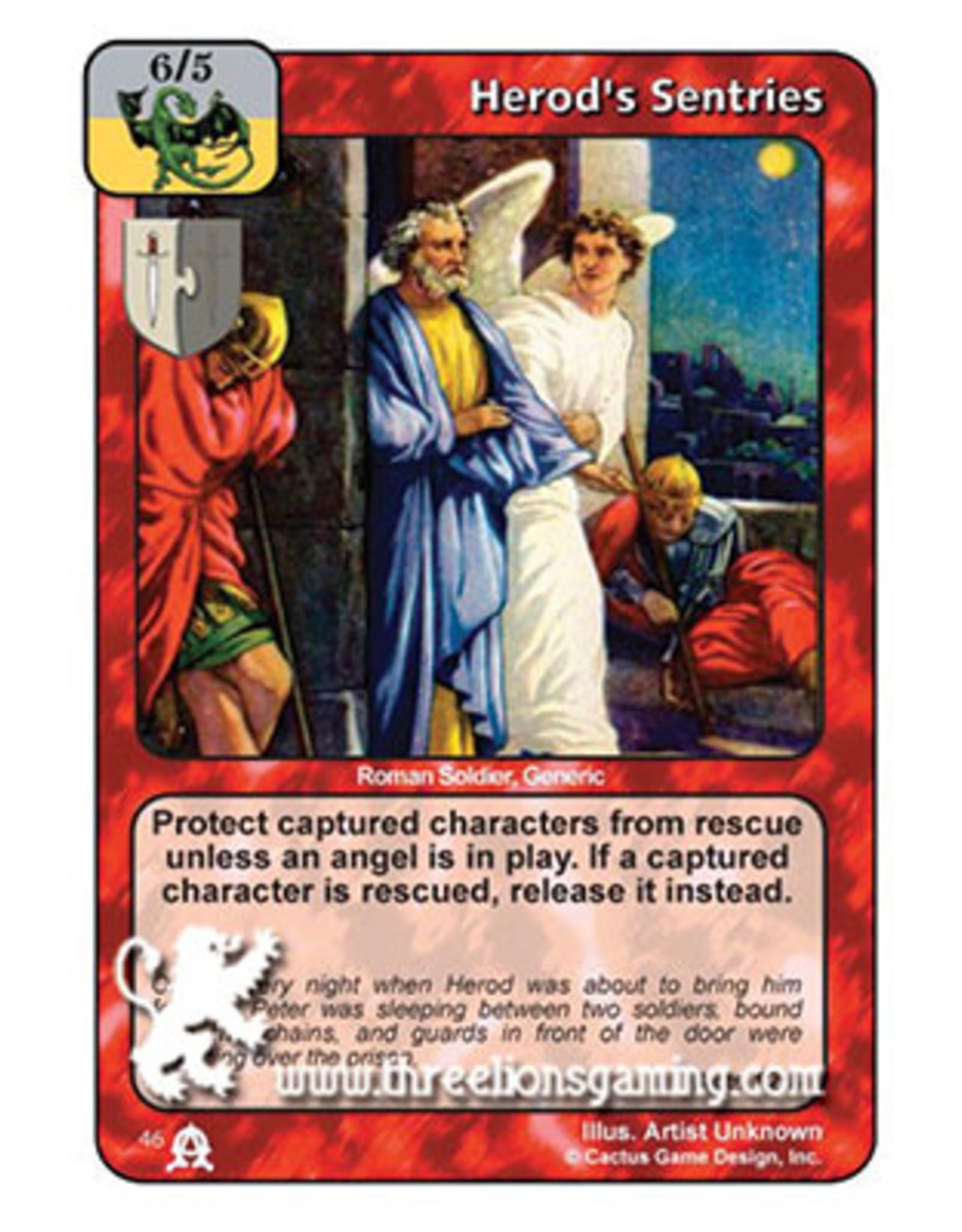 EC: Herod's Sentries