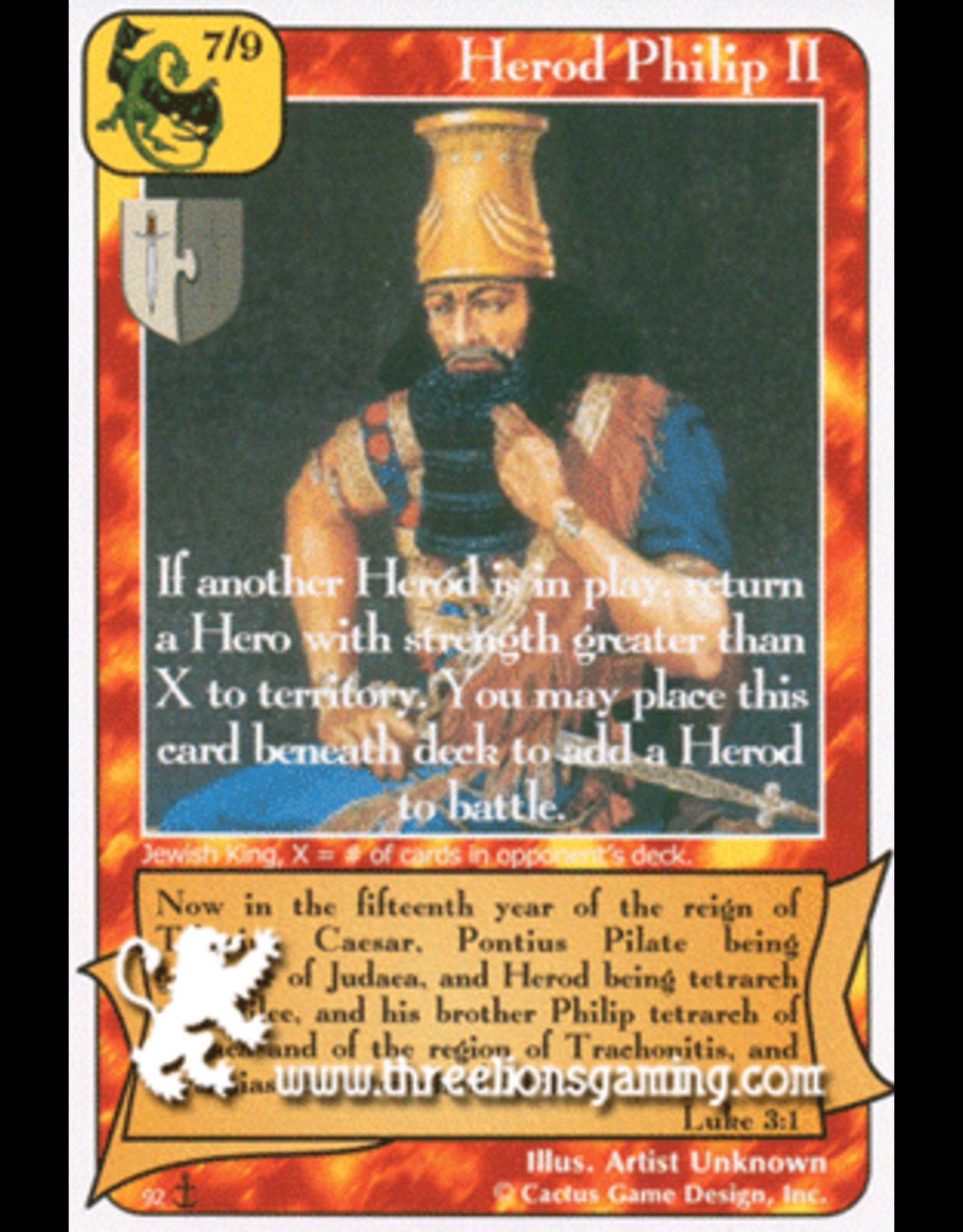 Di: Herod Philip II