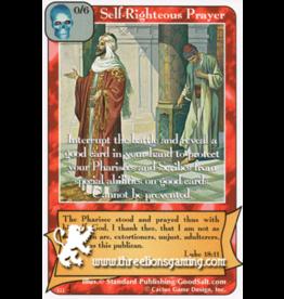 Di: Self-Righteous Prayer