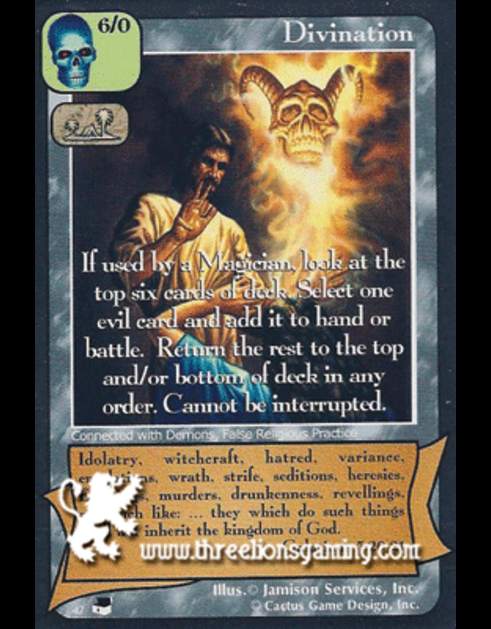 TexP: Divination