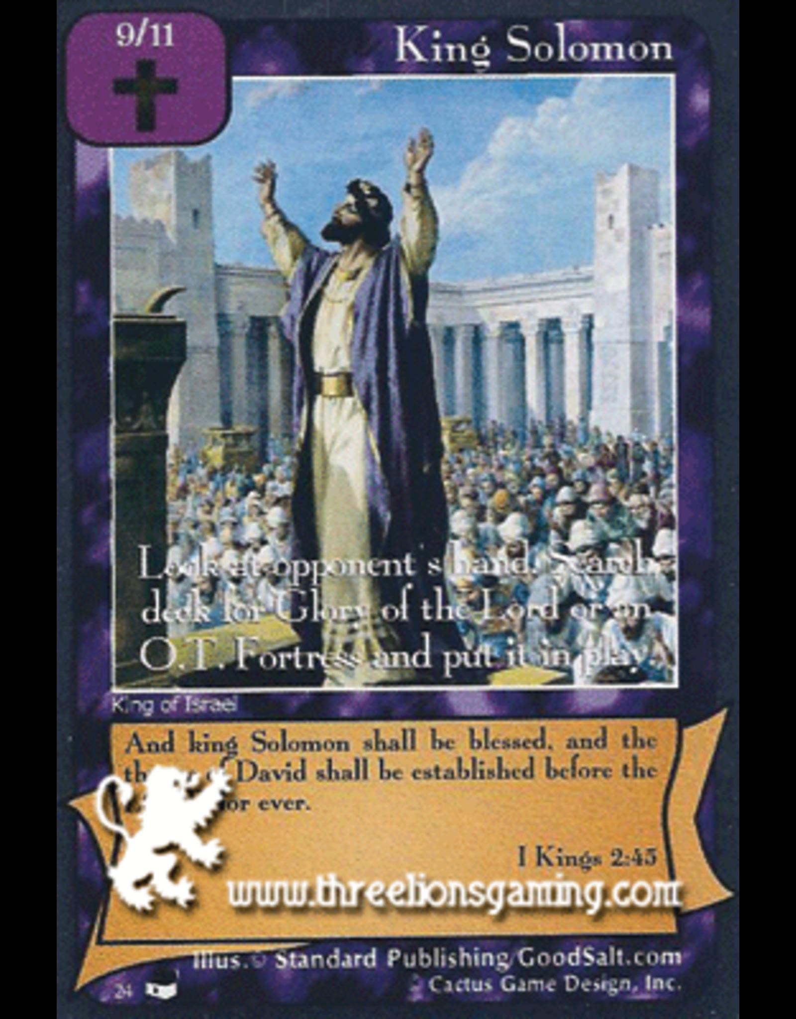 TexP: King Solomon