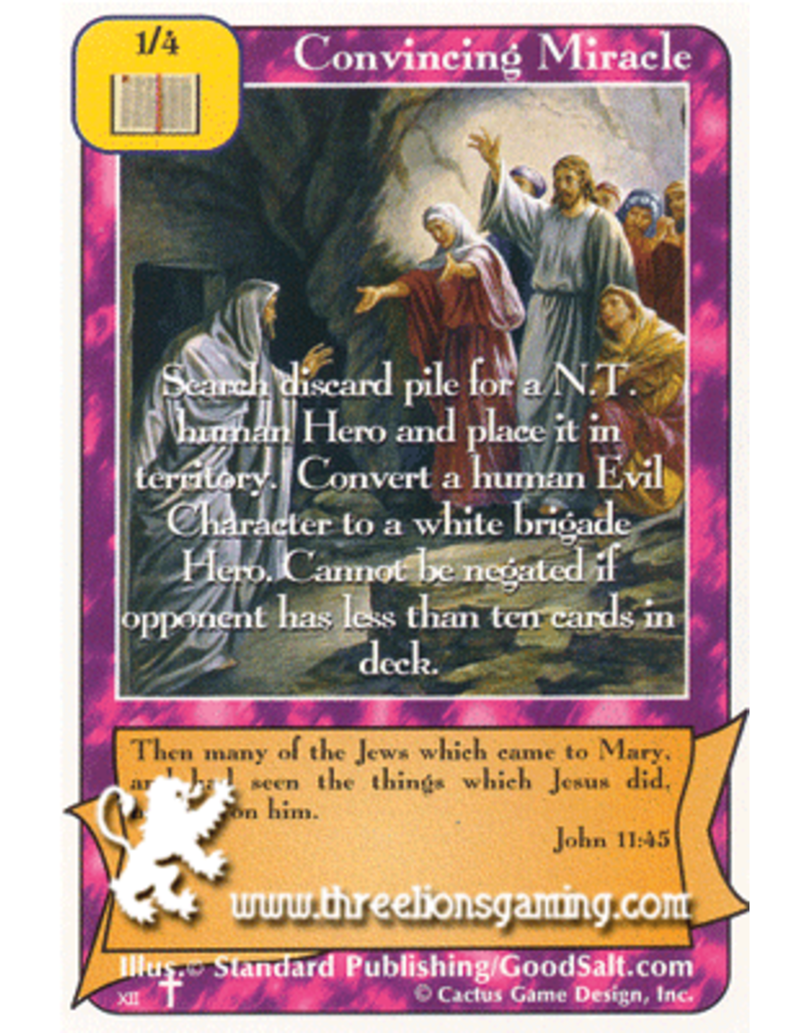 RoA: Convincing Miracle