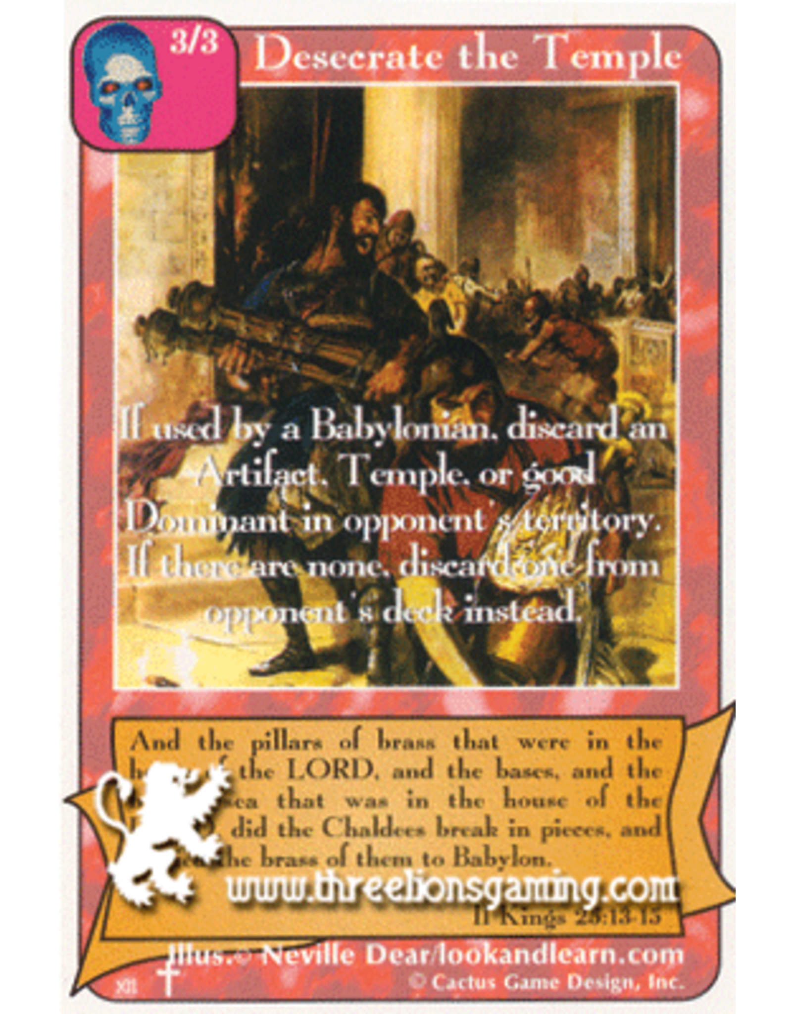 RoA: Desecrate the Temple