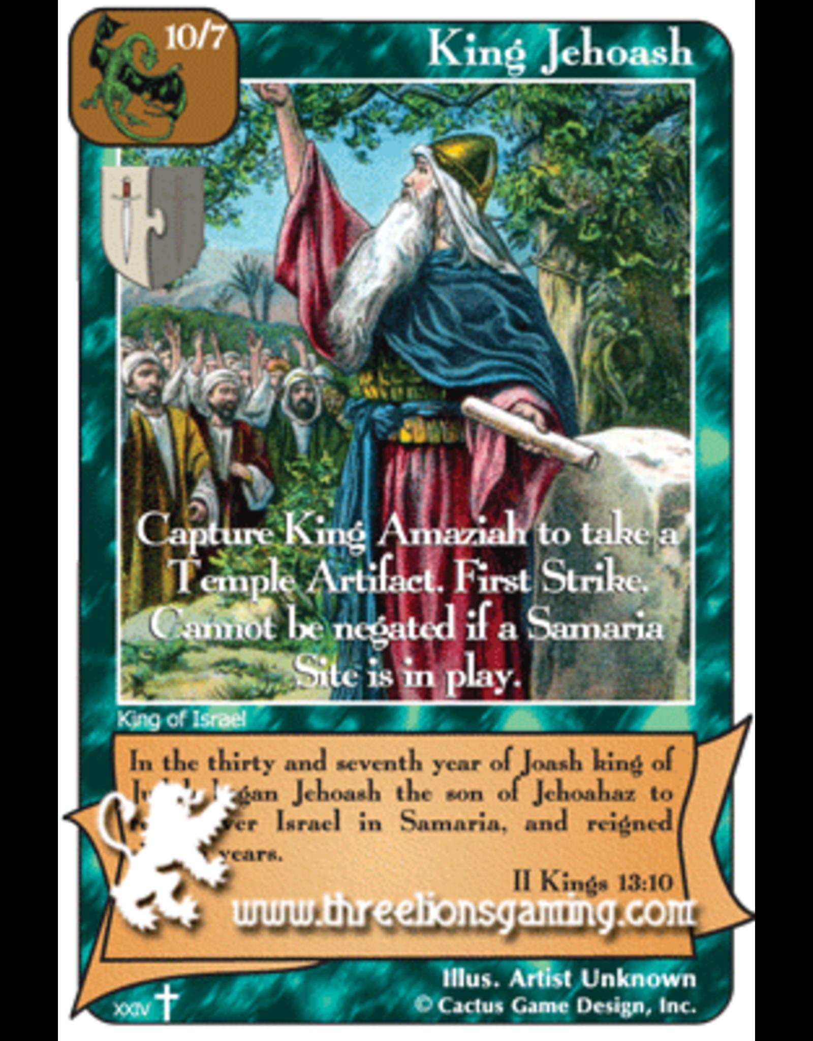 RoA: King Jehoash