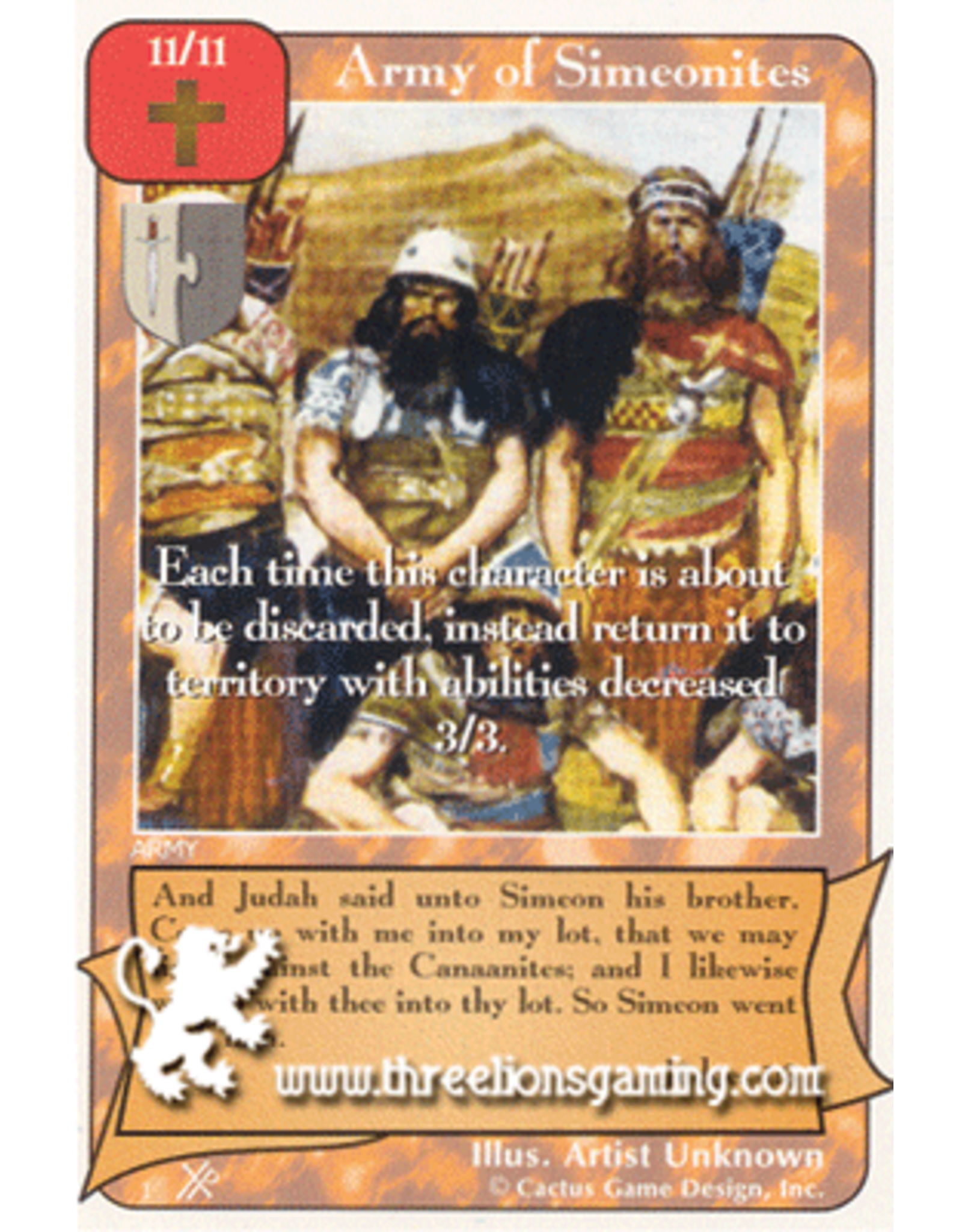 FoOF: Army of Simeonites