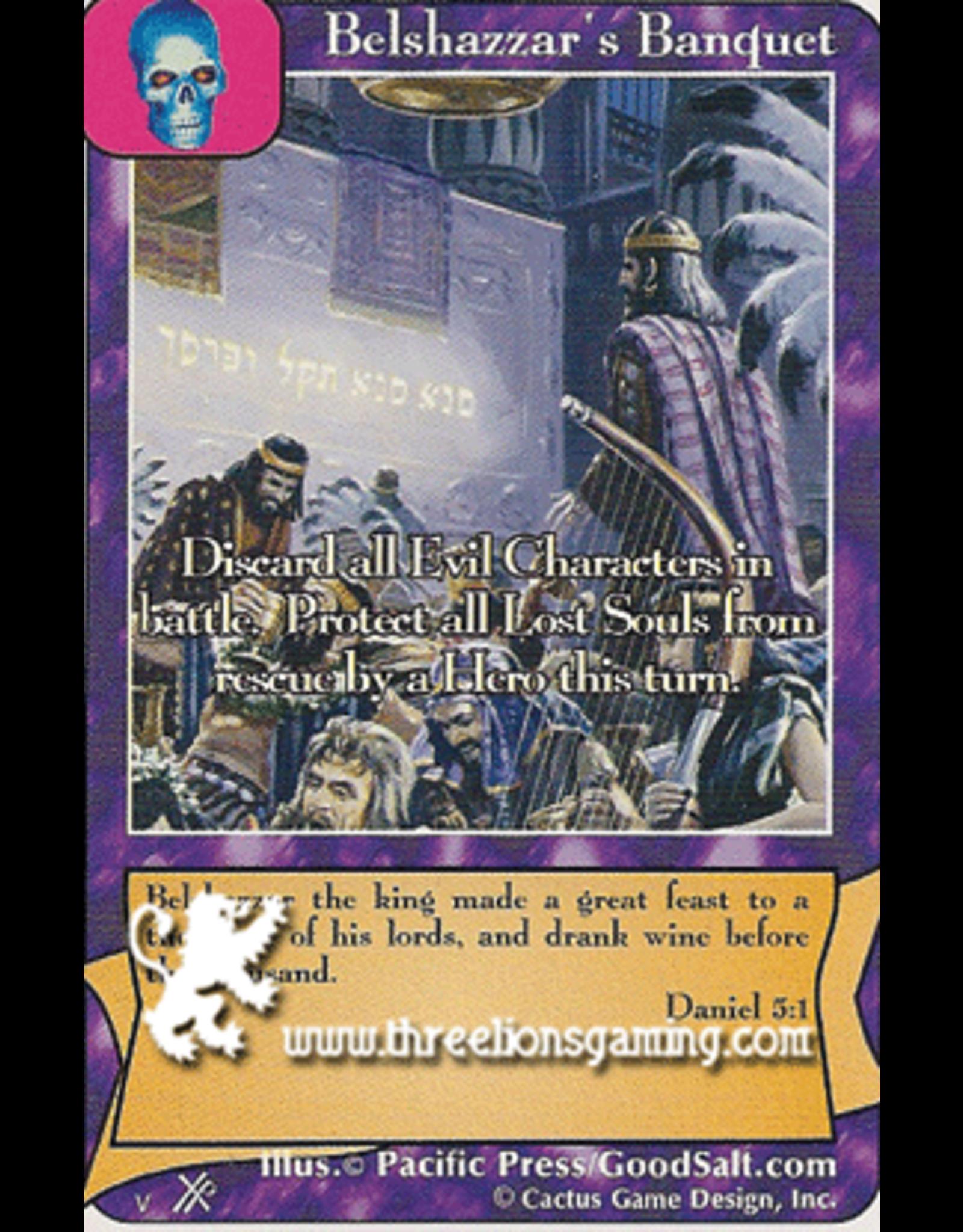 FoOF: Belshazzar's Banquet