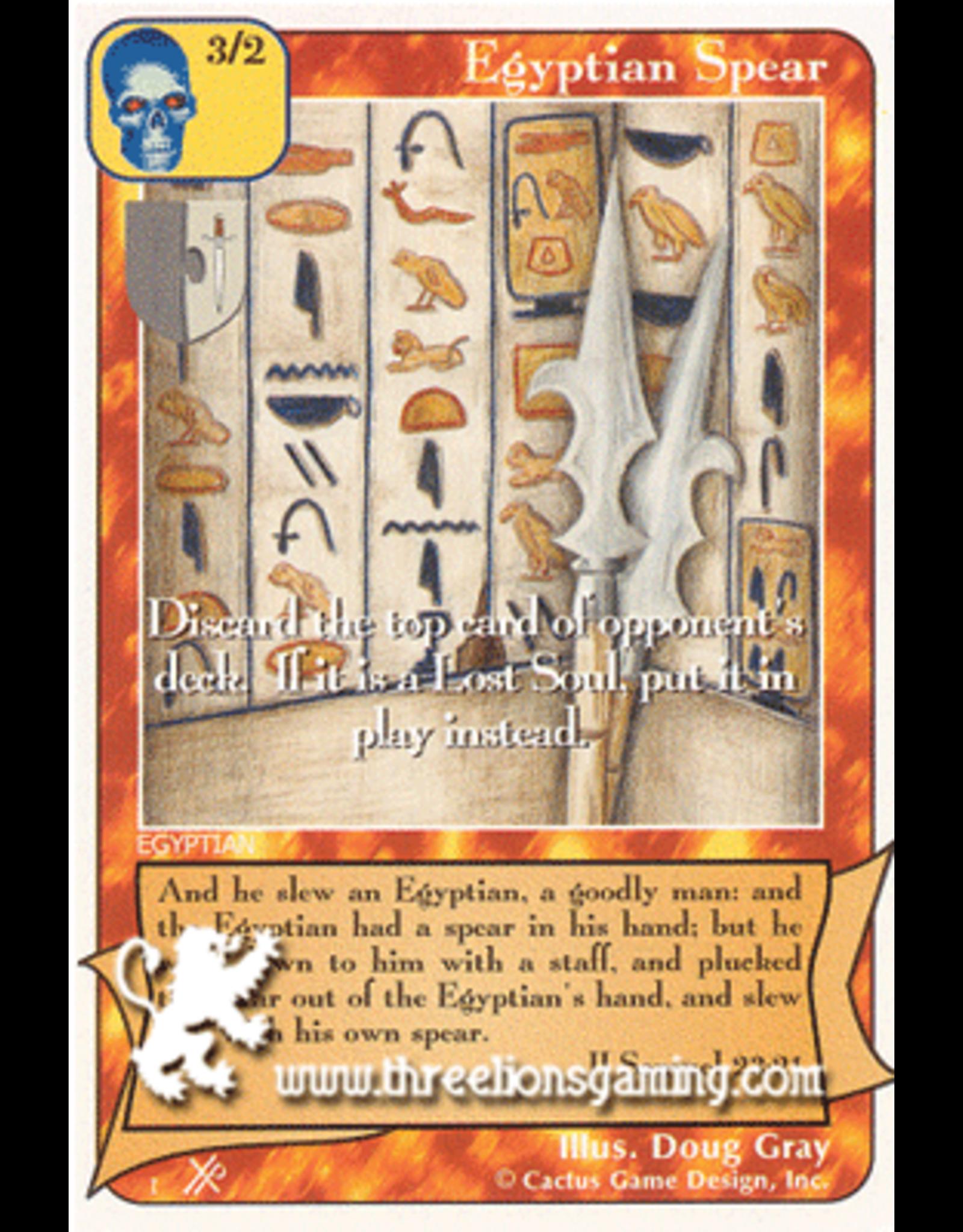 FoOF: Egyptian Spear