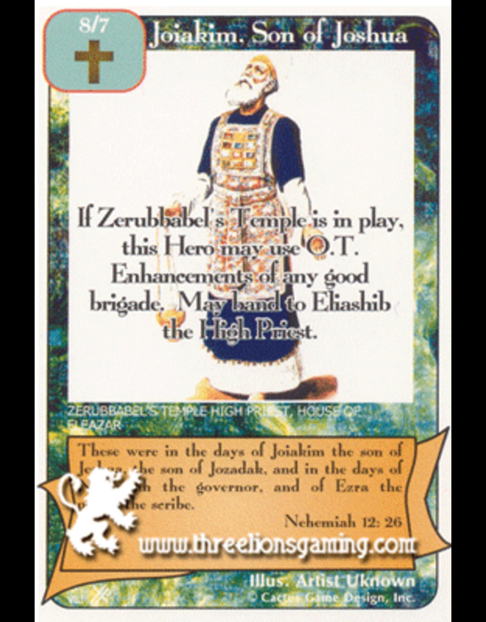 FoOF: Joiakim, son of Joshua