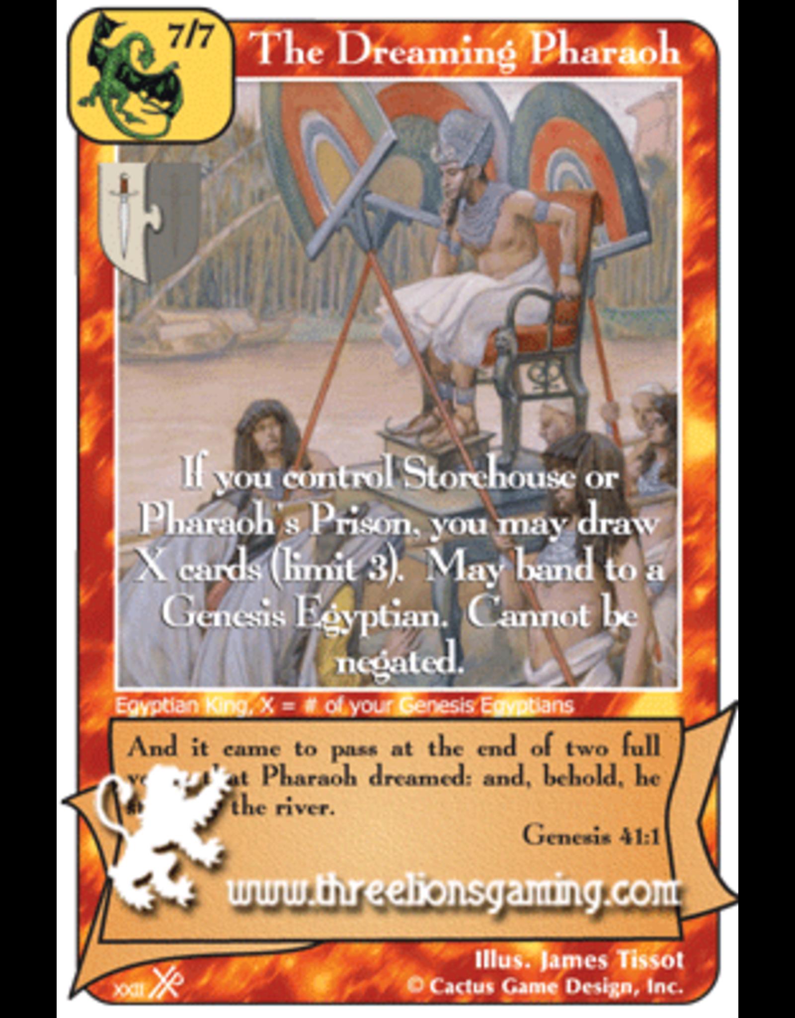 FoOF: The Dreaming Pharaoh