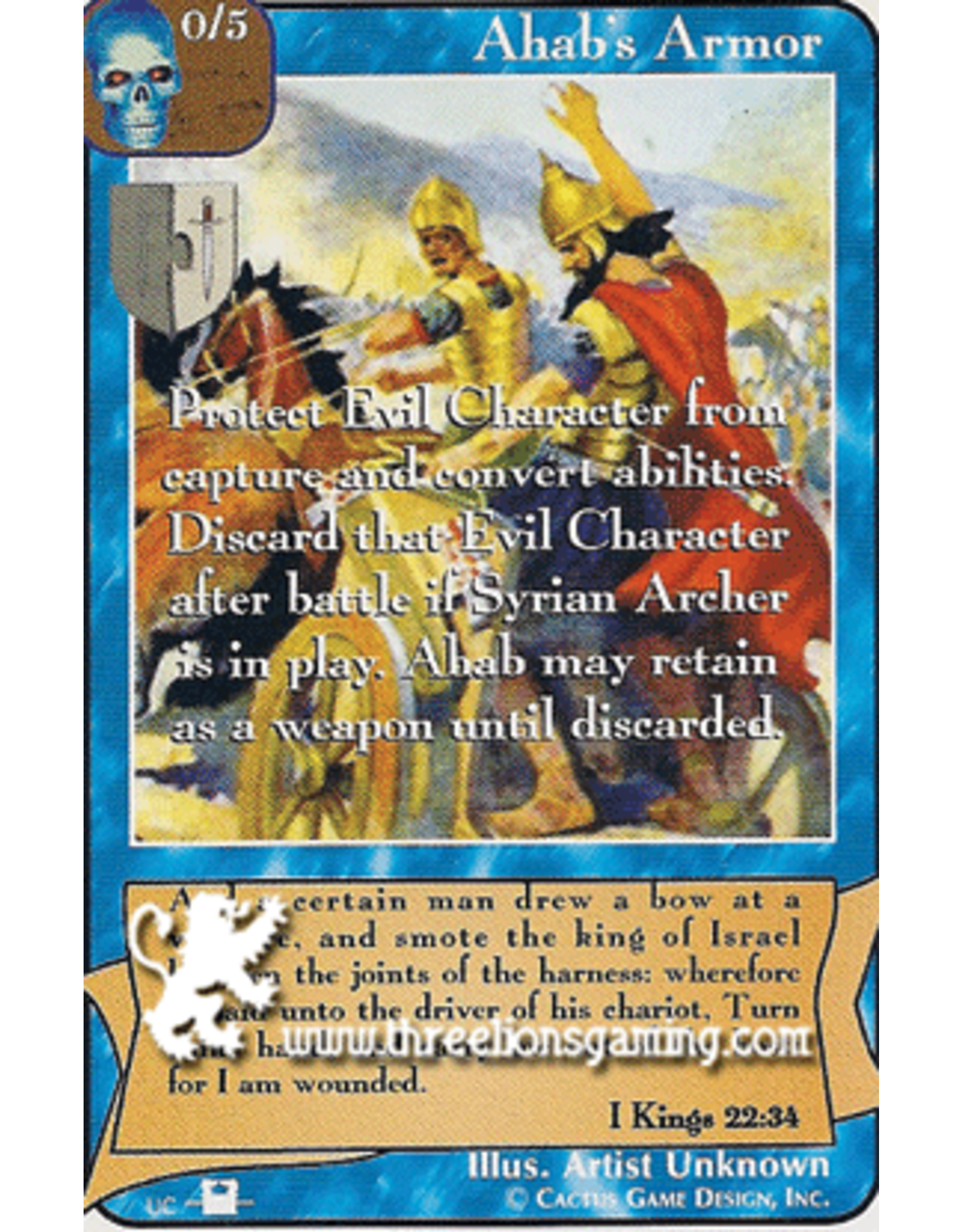 Priests: Ahab's Armor