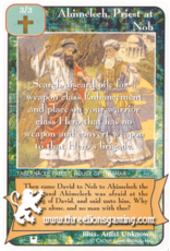 Priests: Ahimelech, Priest at Nob