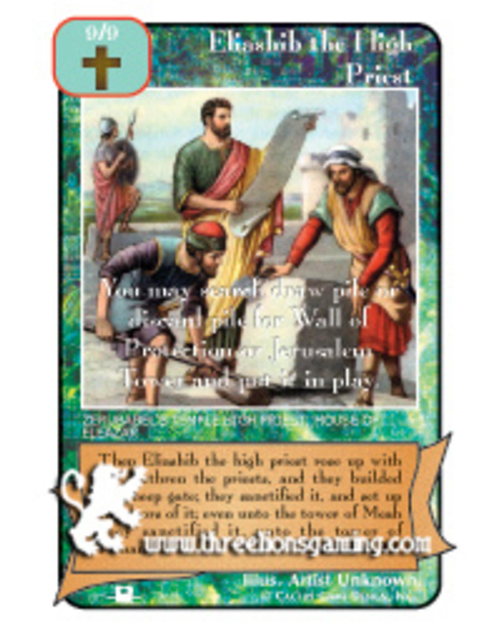 Priests: Eliashib the High Priest