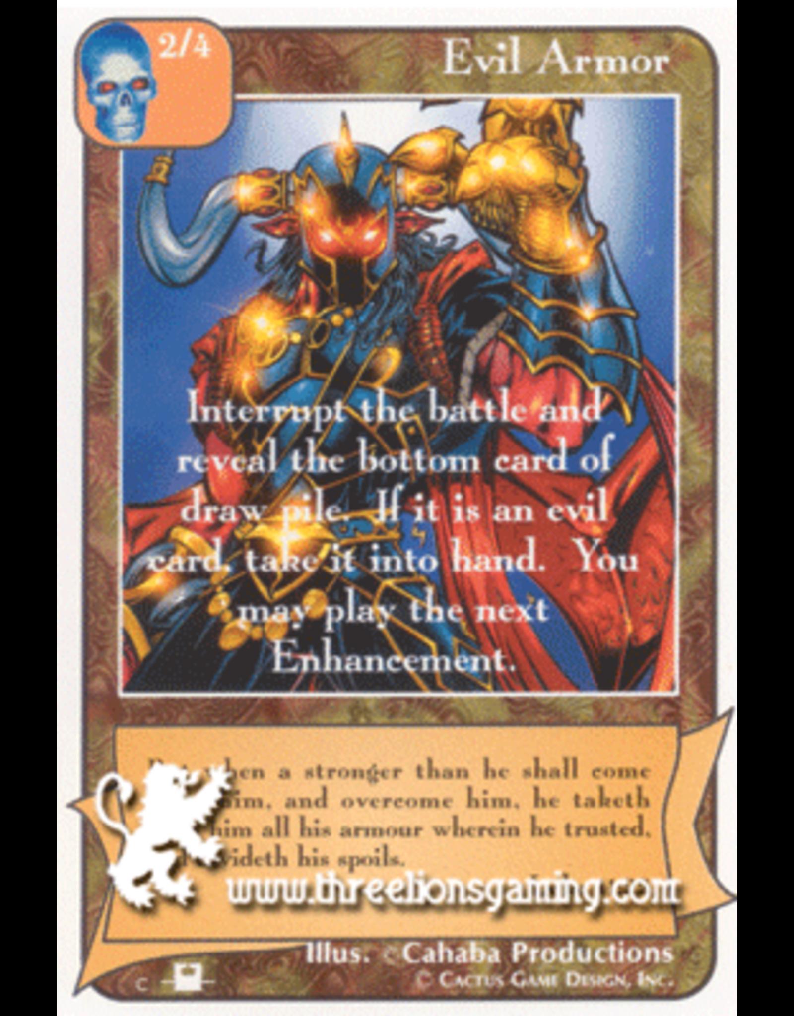 Priest: Evil Armor