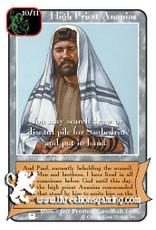 Priests: High Priest Ananias