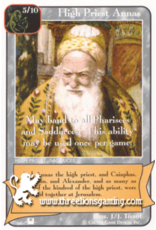 Priest: High Priest Annas