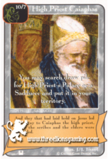 Priests: High Priest Caiaphas