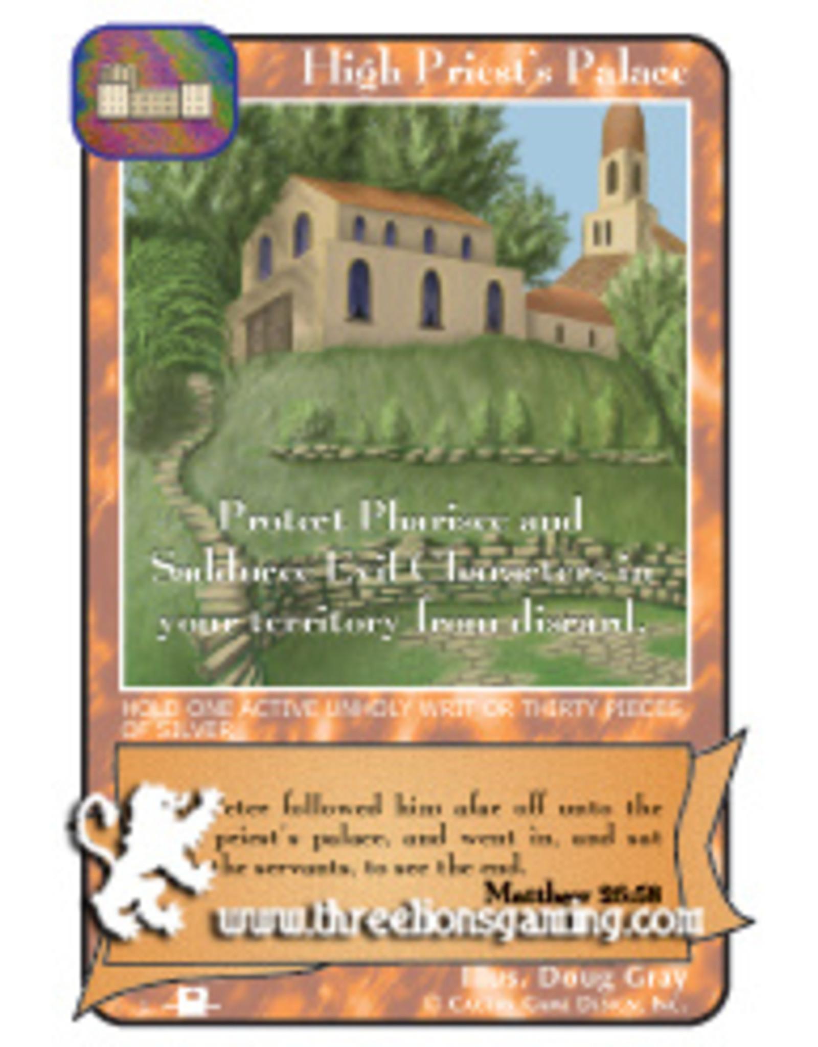 Priests: High Priest's Palace