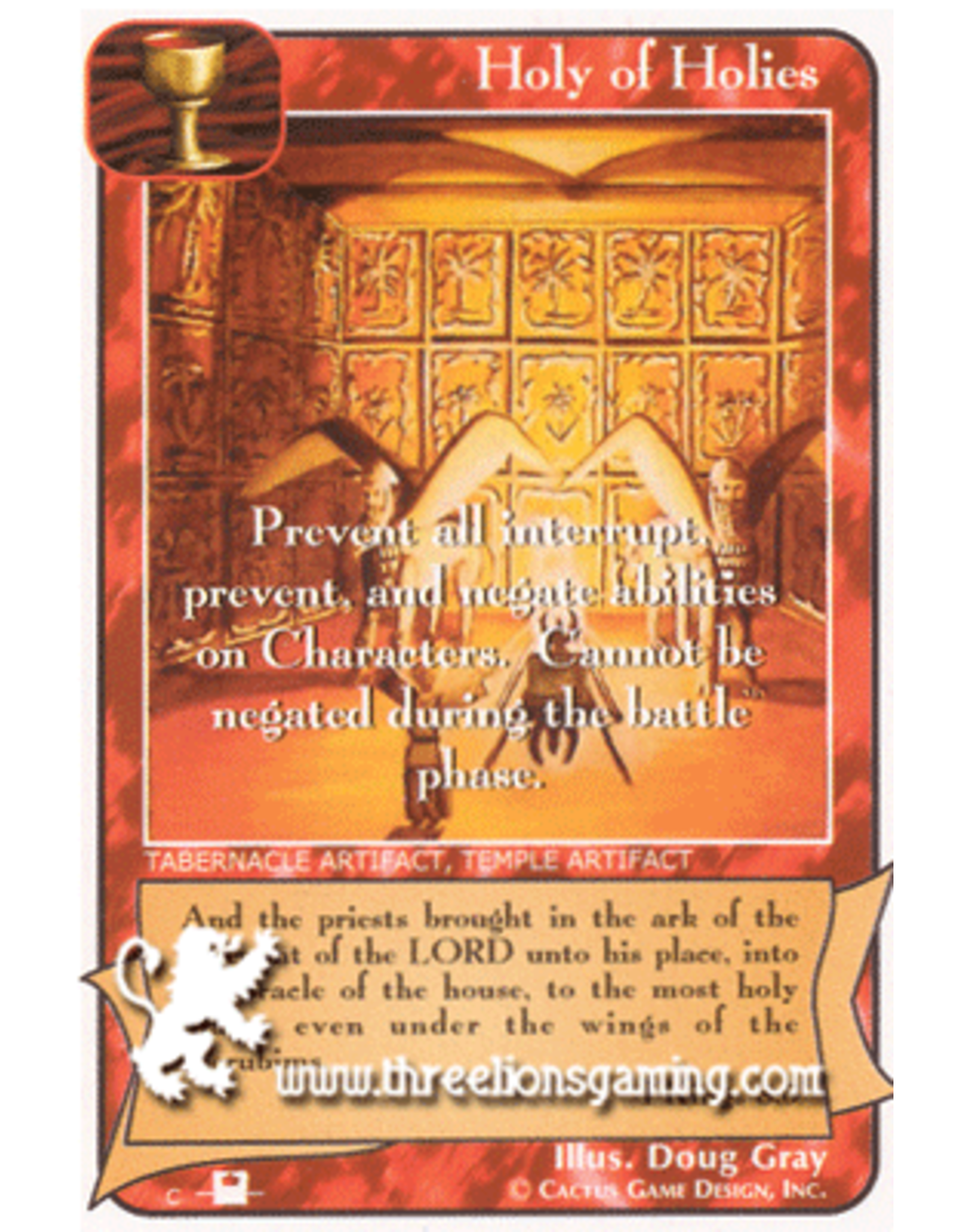 Priest: Holy of Holies