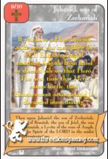 Priests: Jahaziel, son of Zechariah