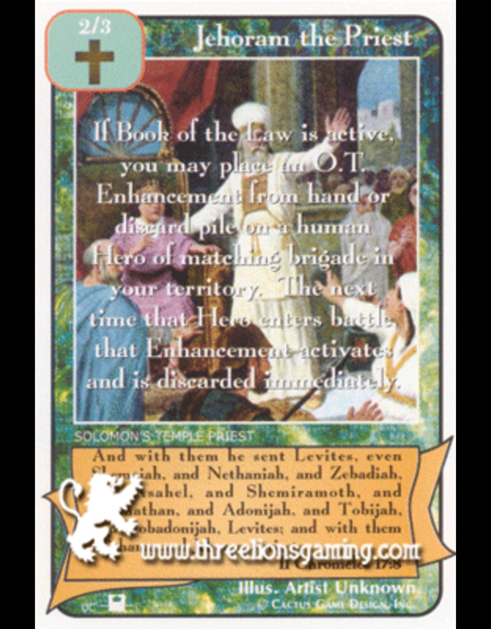 Priest: Jehoram the Priest