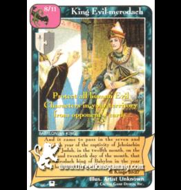 Priests: King Evil-merodach