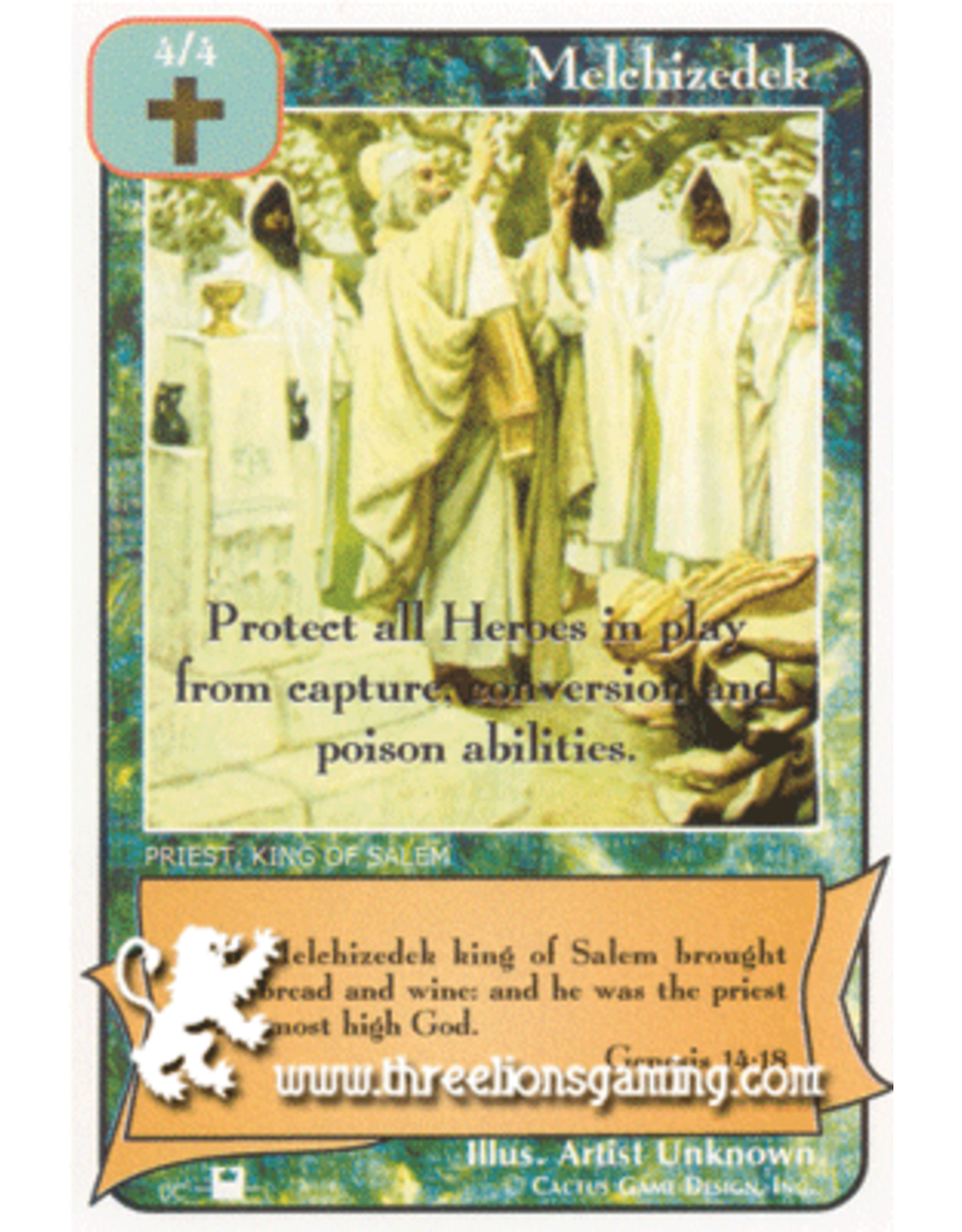 Priests: Melchizedek