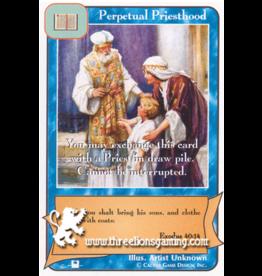 Priests: Perpetual Priesthood