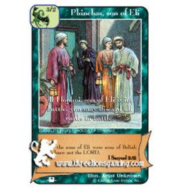 Priests: Phinehas, son of Eli