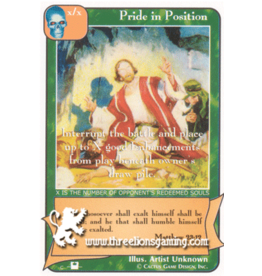 Priest: Pride in Position