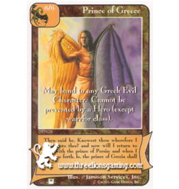 Priests: Prince of Greece