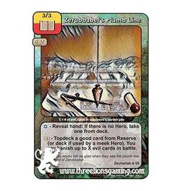 LoC: Zerubbabel's Plumb Line