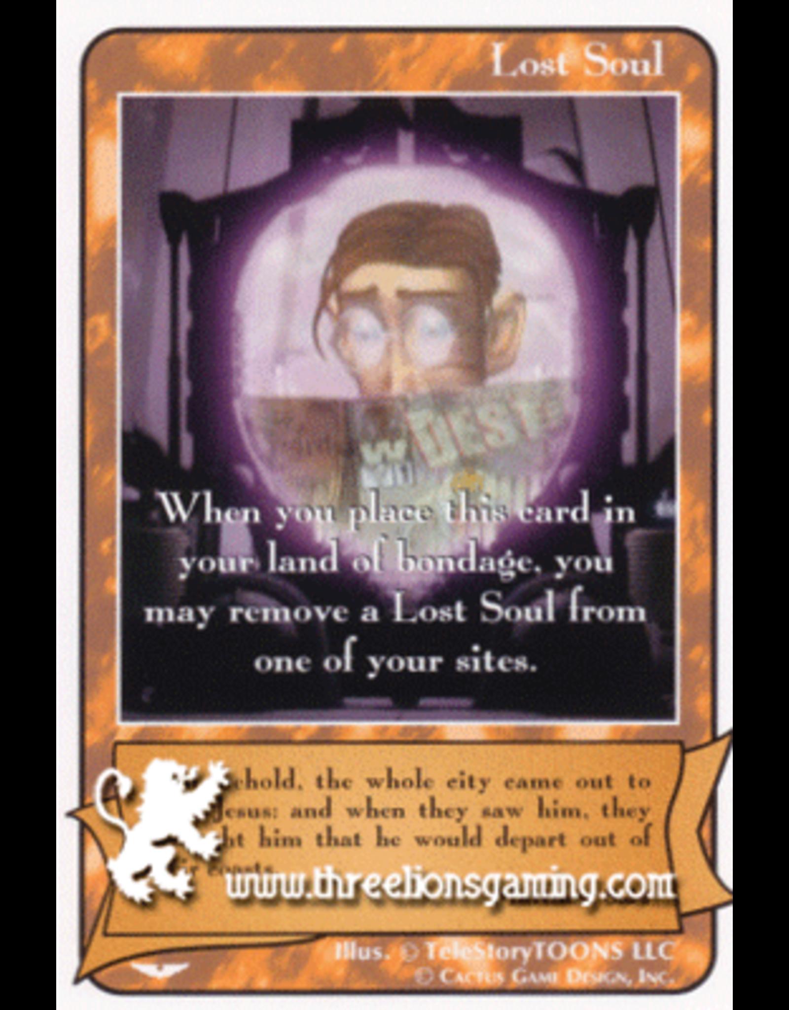 """AW: Lost Soul """"Site Remove"""" (Matthew 8:34)"""