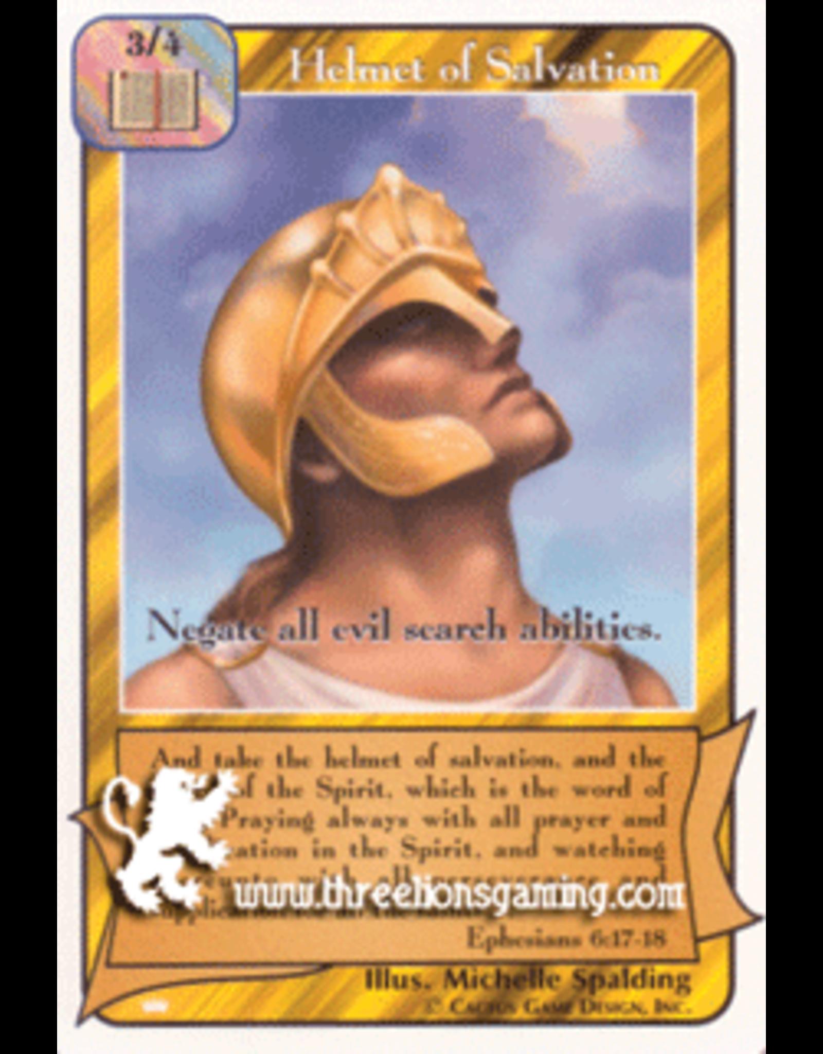 Ki: Helmet of Salvation