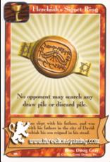 Ki: Hezekiah's Signet Ring