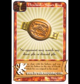 I/J: Ki: Hezekiah's Signet Ring