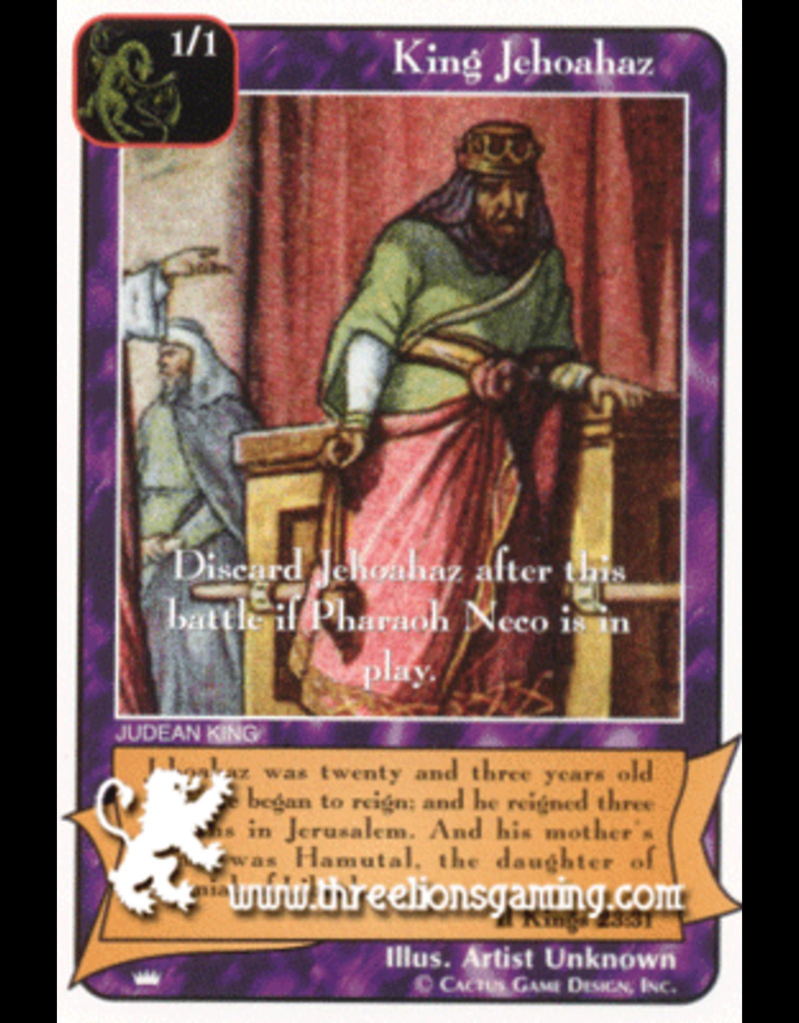 Ki: King Jehoahaz (1/1)