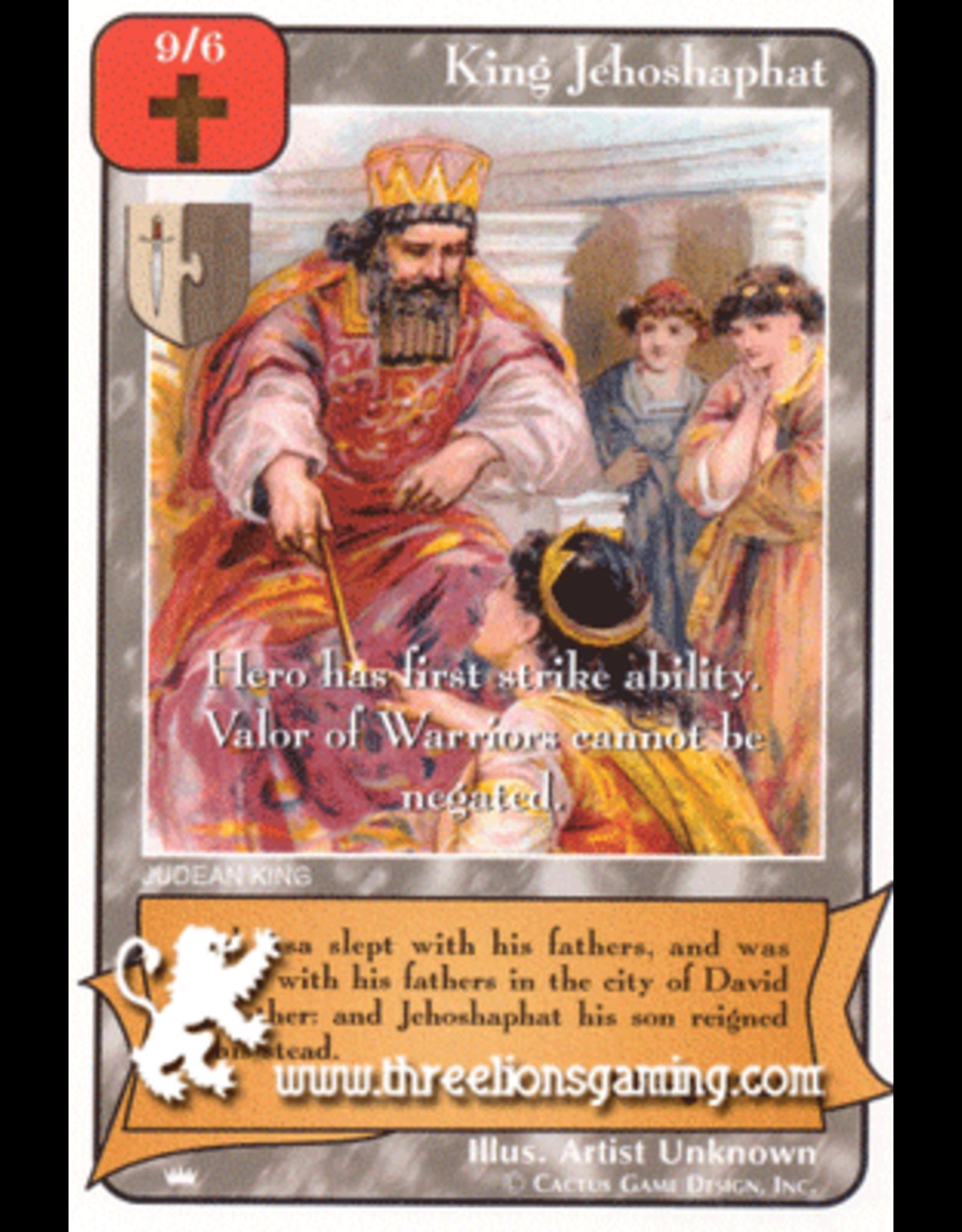 Ki: King Jehoshaphat